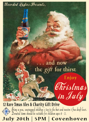 Christmas in July   Beerded Ladies for Covenhoven