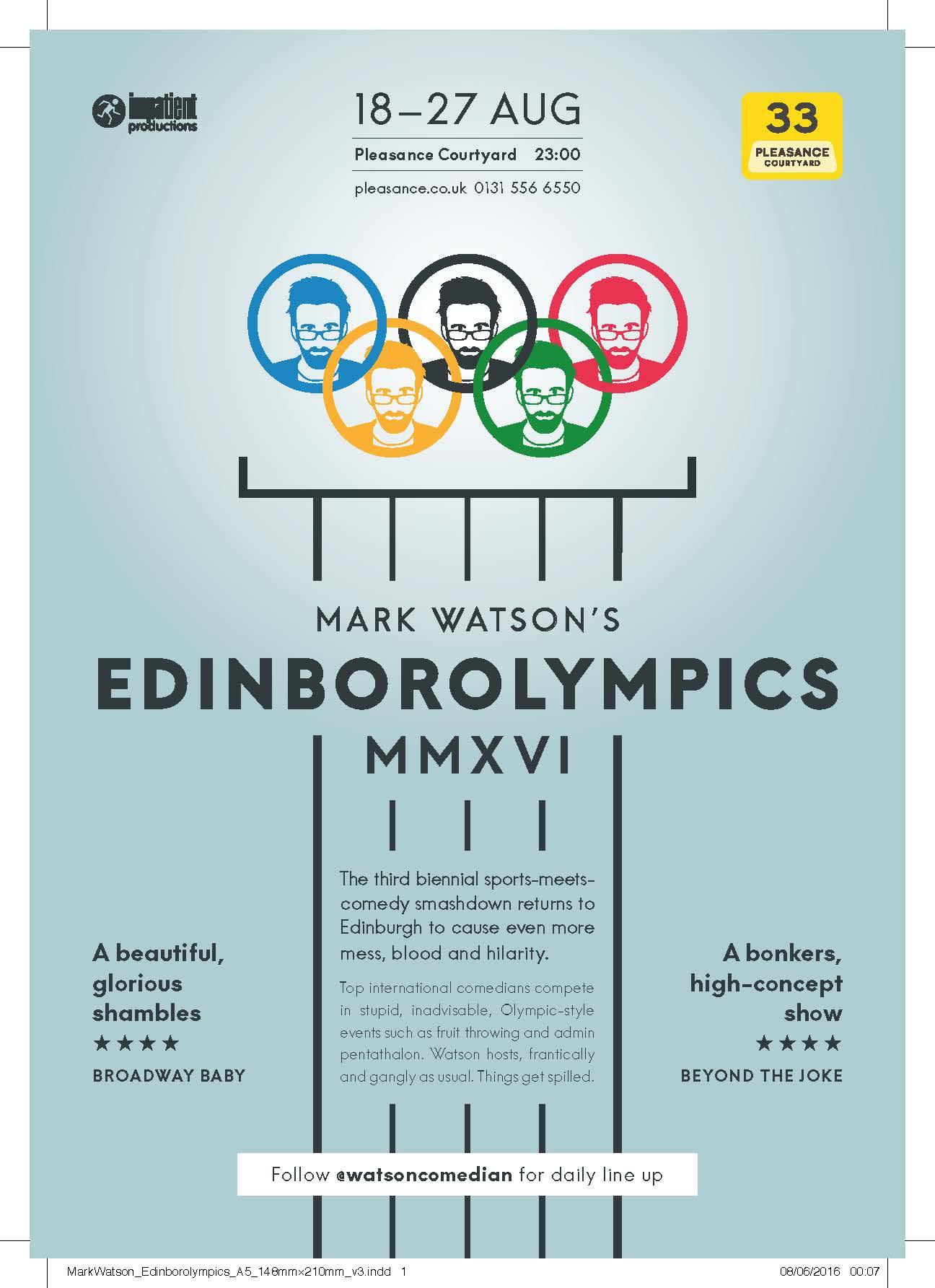 edinburgh 2016: edinborolympics