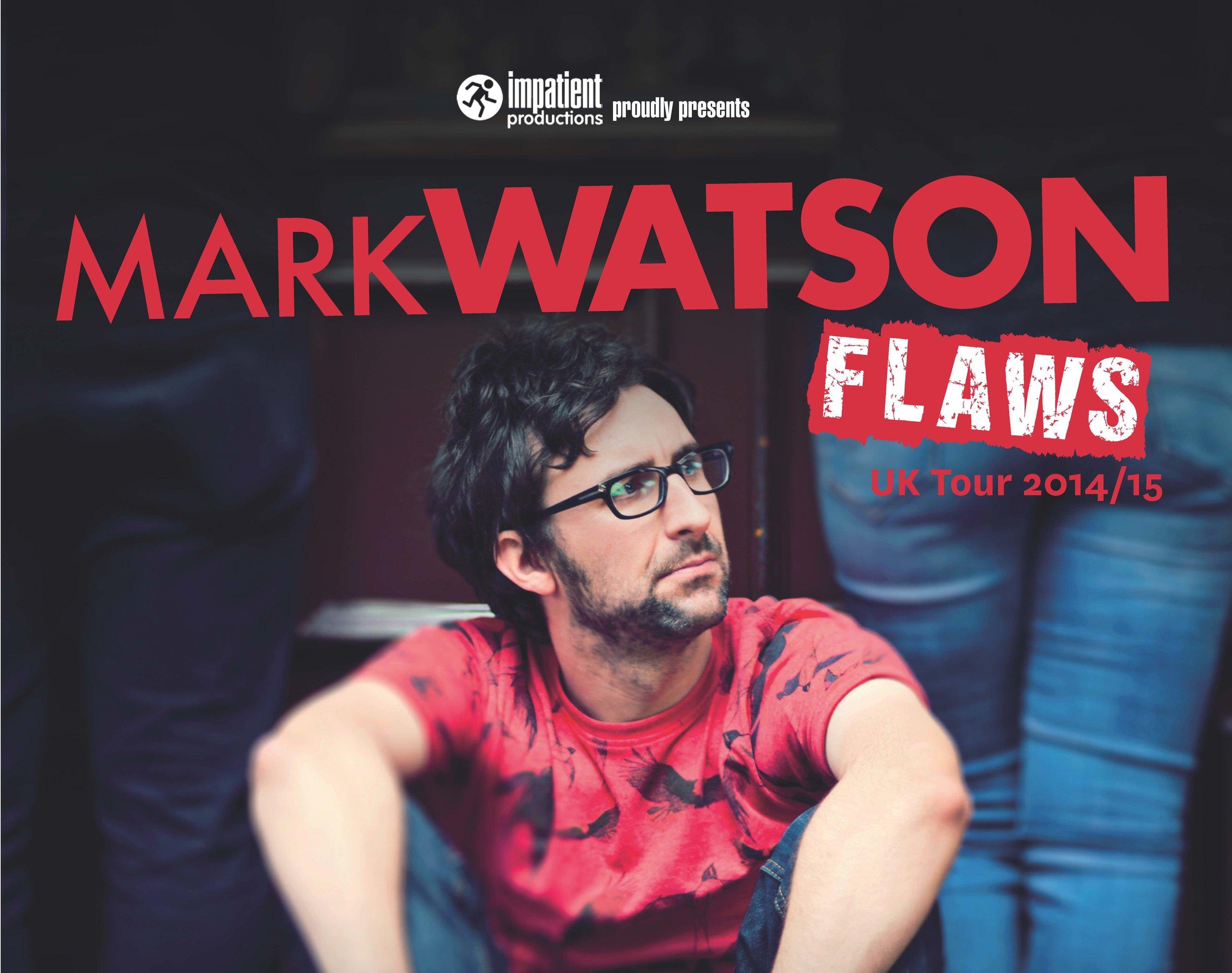 flaws uk tour: 2014/15