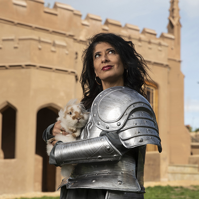 shappi khorsandi: skittish warrior    the stand 1 | 1:40pm [4-10]   Comedian, author, cultural icon and – most recently – idiot who agreed to be tortured on I'm A Celebrity Get Me Out of Here!, Shappi Khorsandi is a woman of many parts. But live comedy is where she's in her element, and now – after her spell in the jungle and a recent sell out tour around the UK - Shappi heads back to Edinburgh to perform in one of her ultimate favourite comedy venues, The Stand.   A brand new hour packed full of sharp-tongued gags, cultural observation, and whatever is in her easily distracted mind...this is Shappi's warts-and-all journey through the 90s comedy scene, to breaking through on telly and then letting it all slip away.  As heard on Radio 4, read in two warmly-received books, and seen sleeping in a hammock.