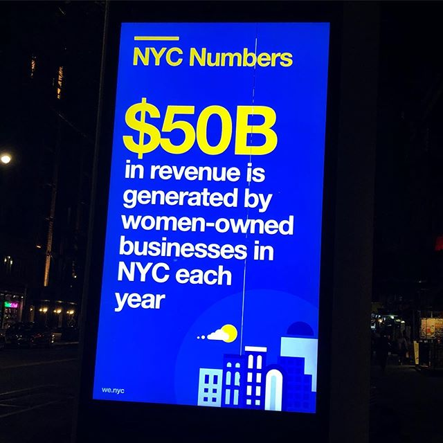 Happily doing our part. #nyc #womentrepreneurs