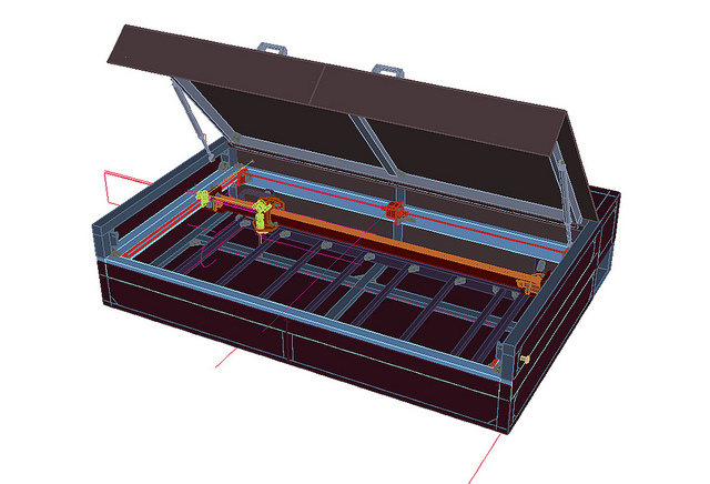 LasersaurModel