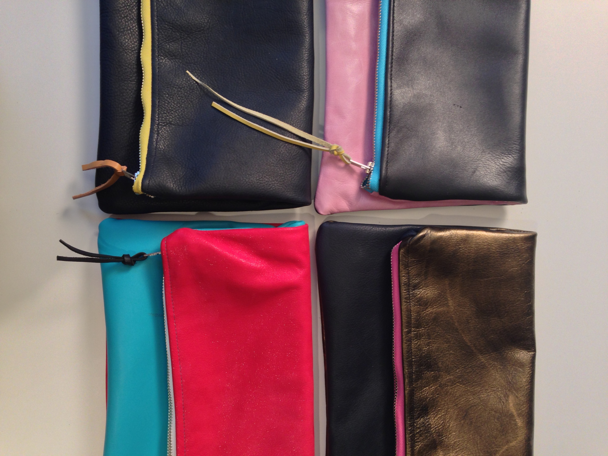 Sew a Leather Clutch