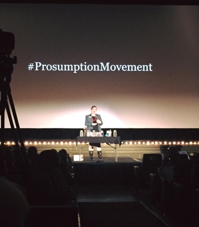 The Reuser introduces the Prosumption Movement at the inaugural VanTalks event.