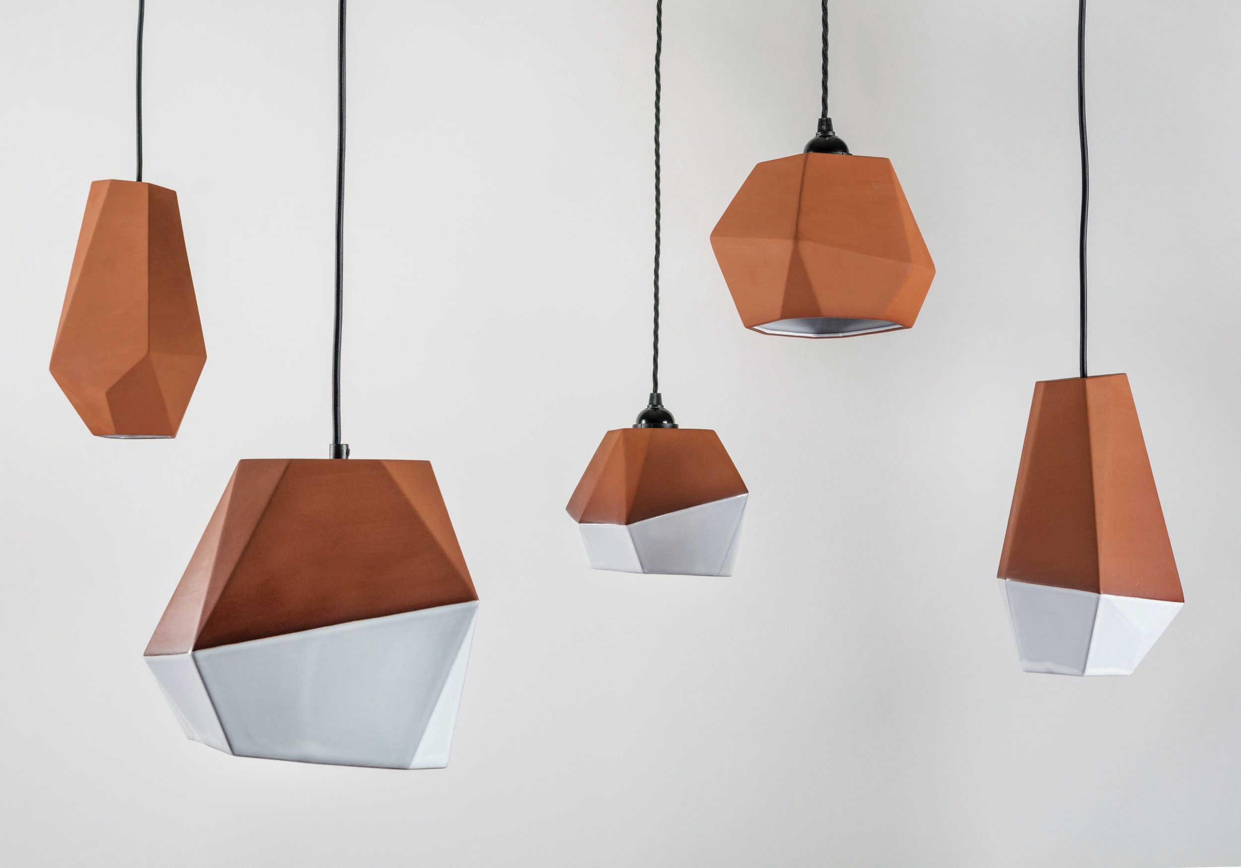 Geometric Terracotta Pendant Shades_Group_Nick Fraser Design.jpg