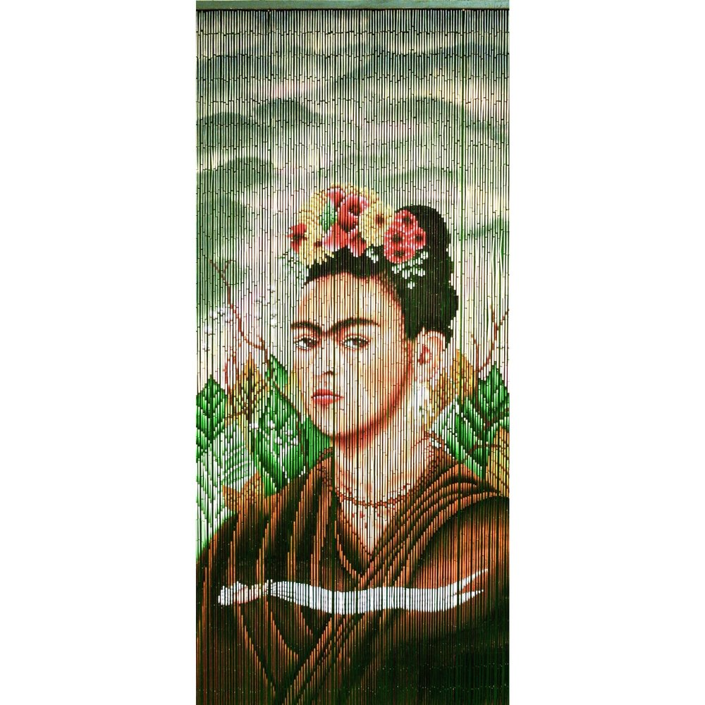 FRIDA KAHLO BAMBOO CURTAIN