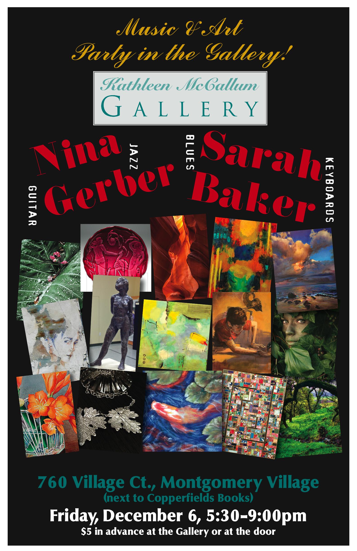 Kathleen McCallum Gallery Party Invitation 2013