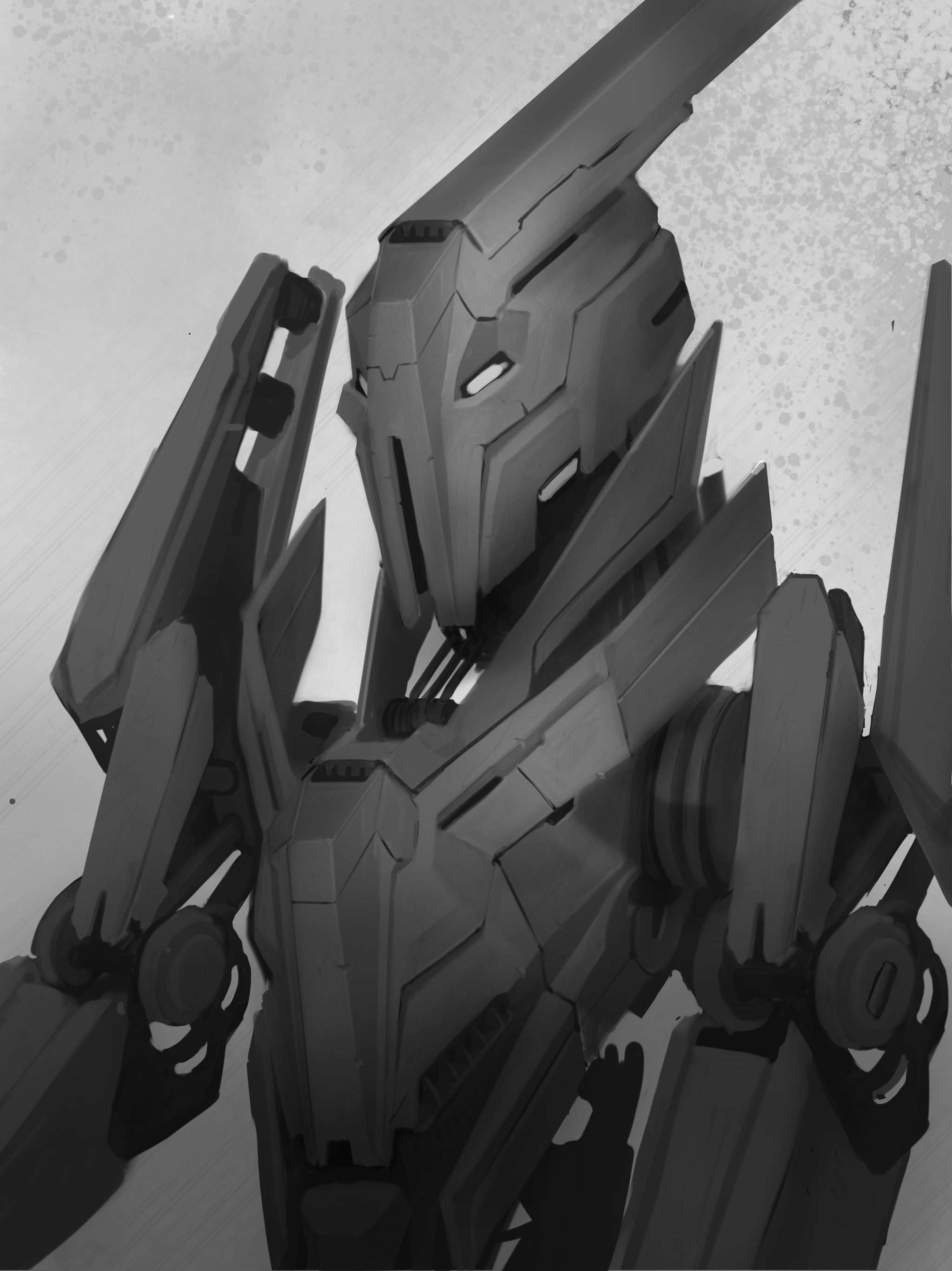 Mech Sketch / Procreate / iPad Pro