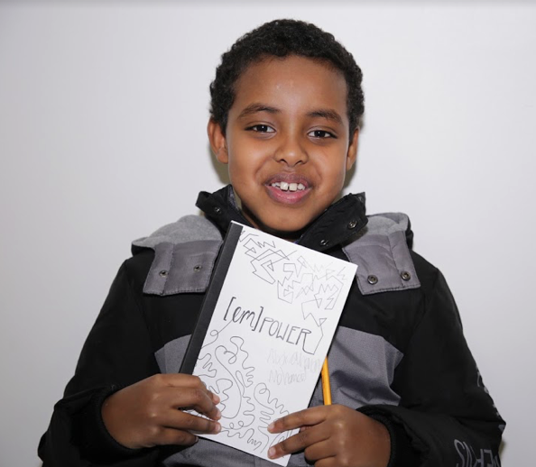 """""""My future is to be noticed.� — Abdirahman, grade 5,  Empower"""