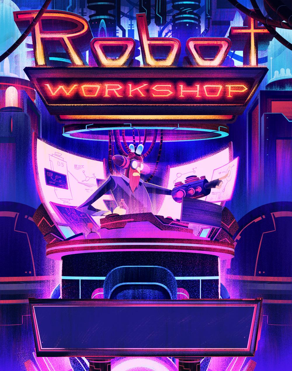 Robot Workshop ·   2014 ·  Title Page
