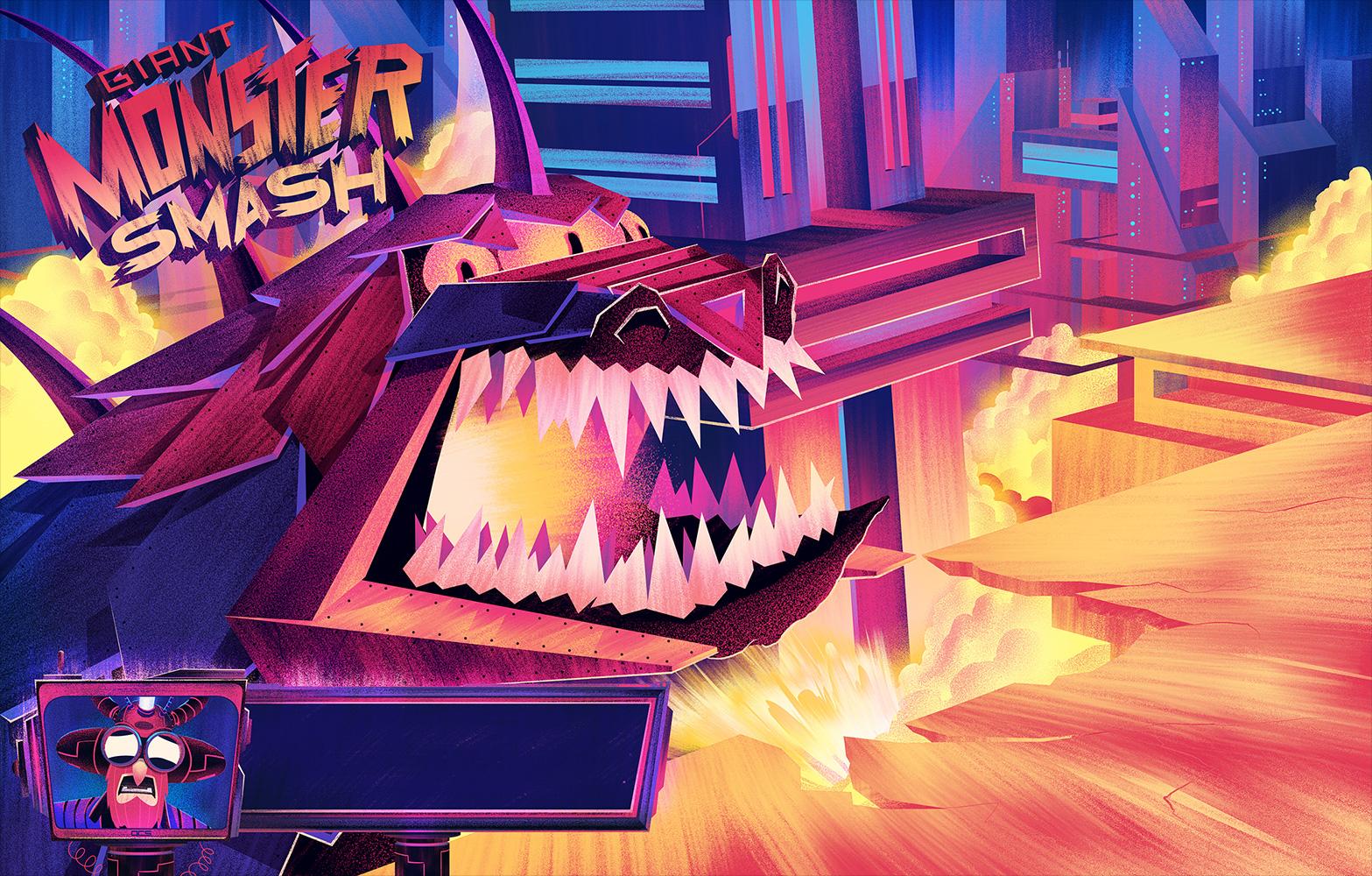 Robot Workshop ·   2014 ·  Monster Smash