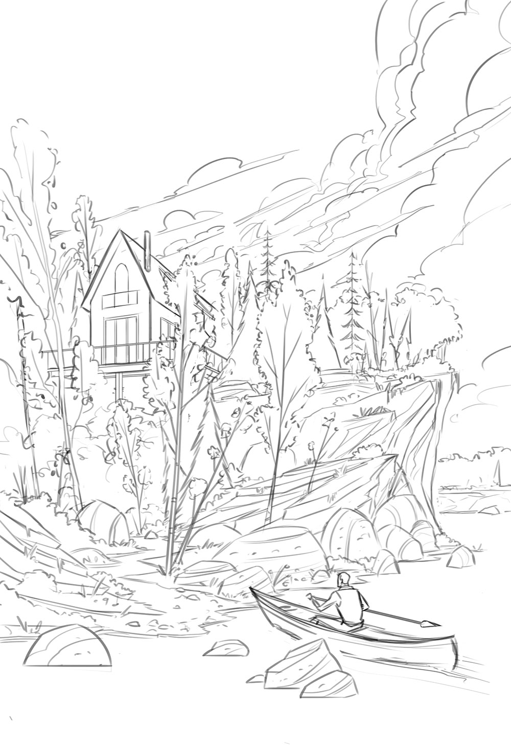 The Cabin · Sketch