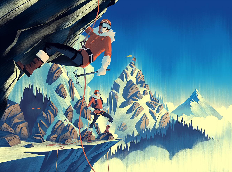 2014 LabelExpo Americas ·  Alpine Final Illustration