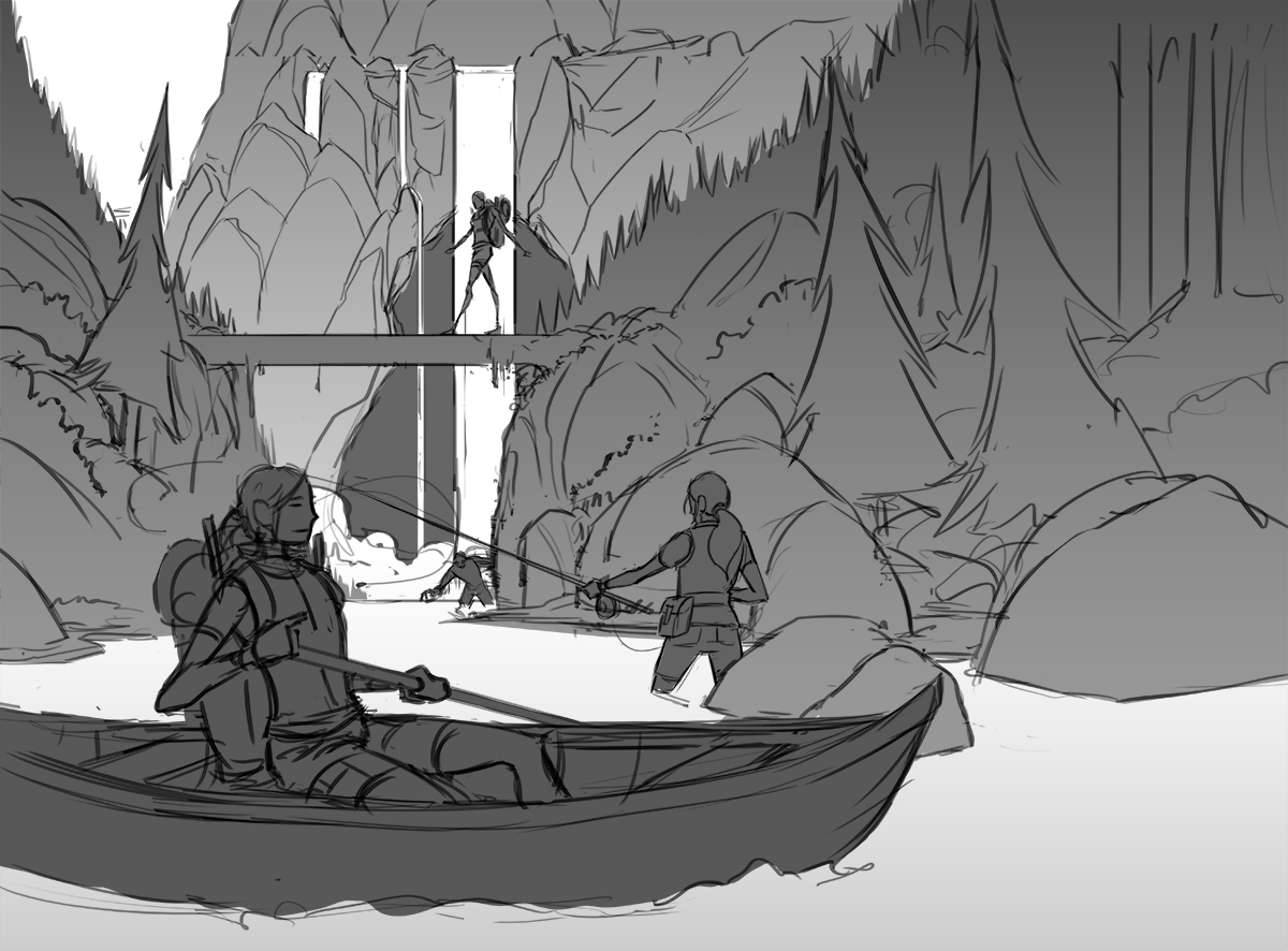 2014 LabelExpo Americas ·  Wild River Sketch