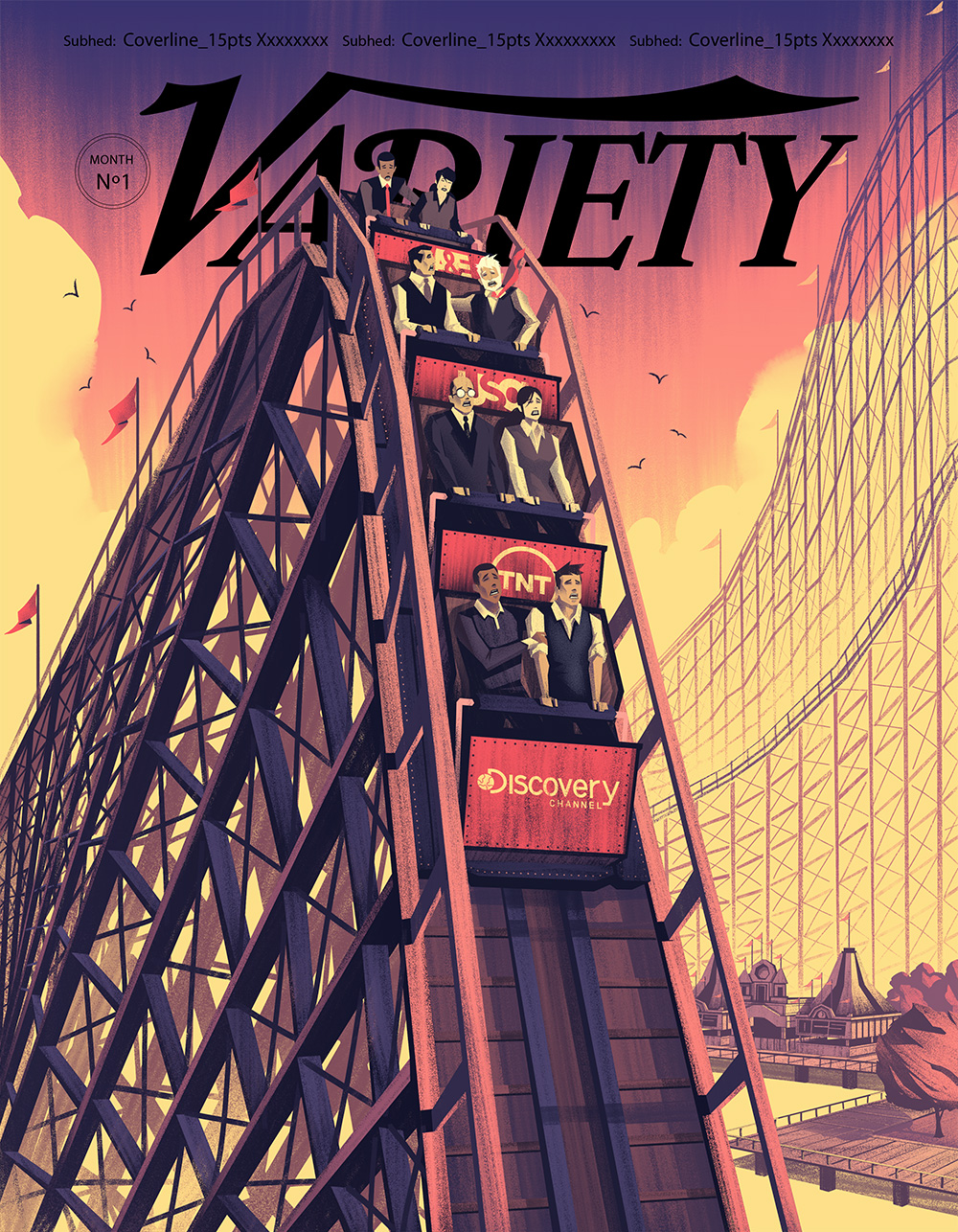 Cover for Variety Magazine