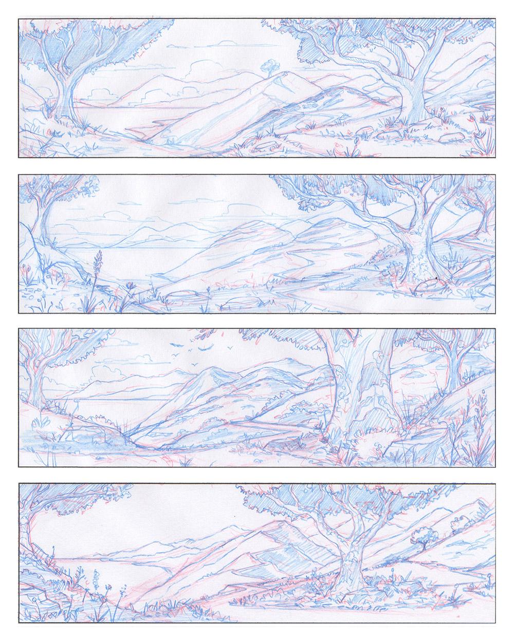 NHM · Earthmobile · Pencil Sketches
