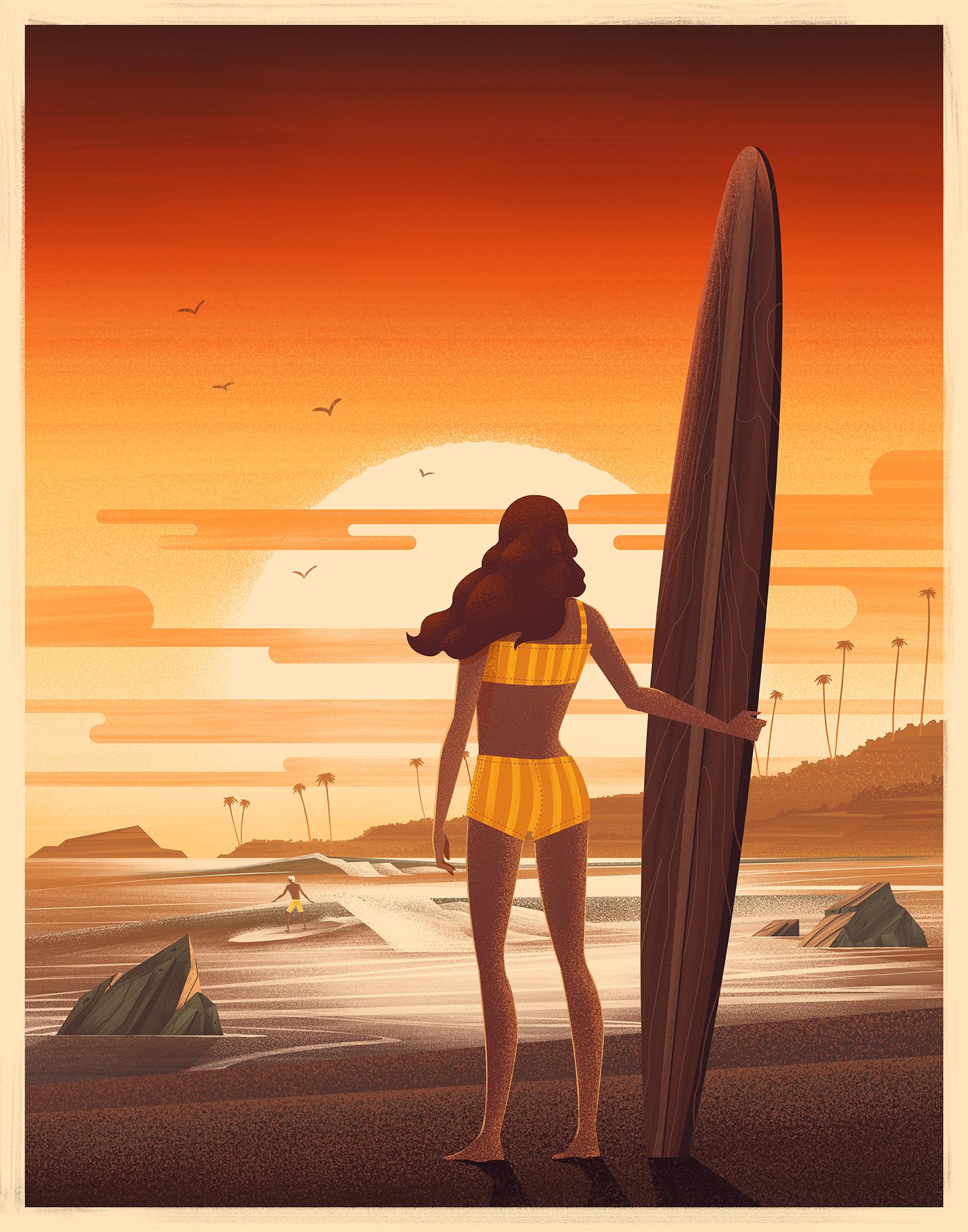 Laguna Beach House  · Limited Edition Print · 2014