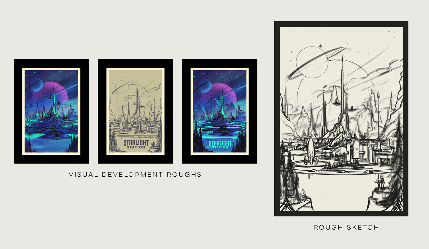 Space Park  · Sketches
