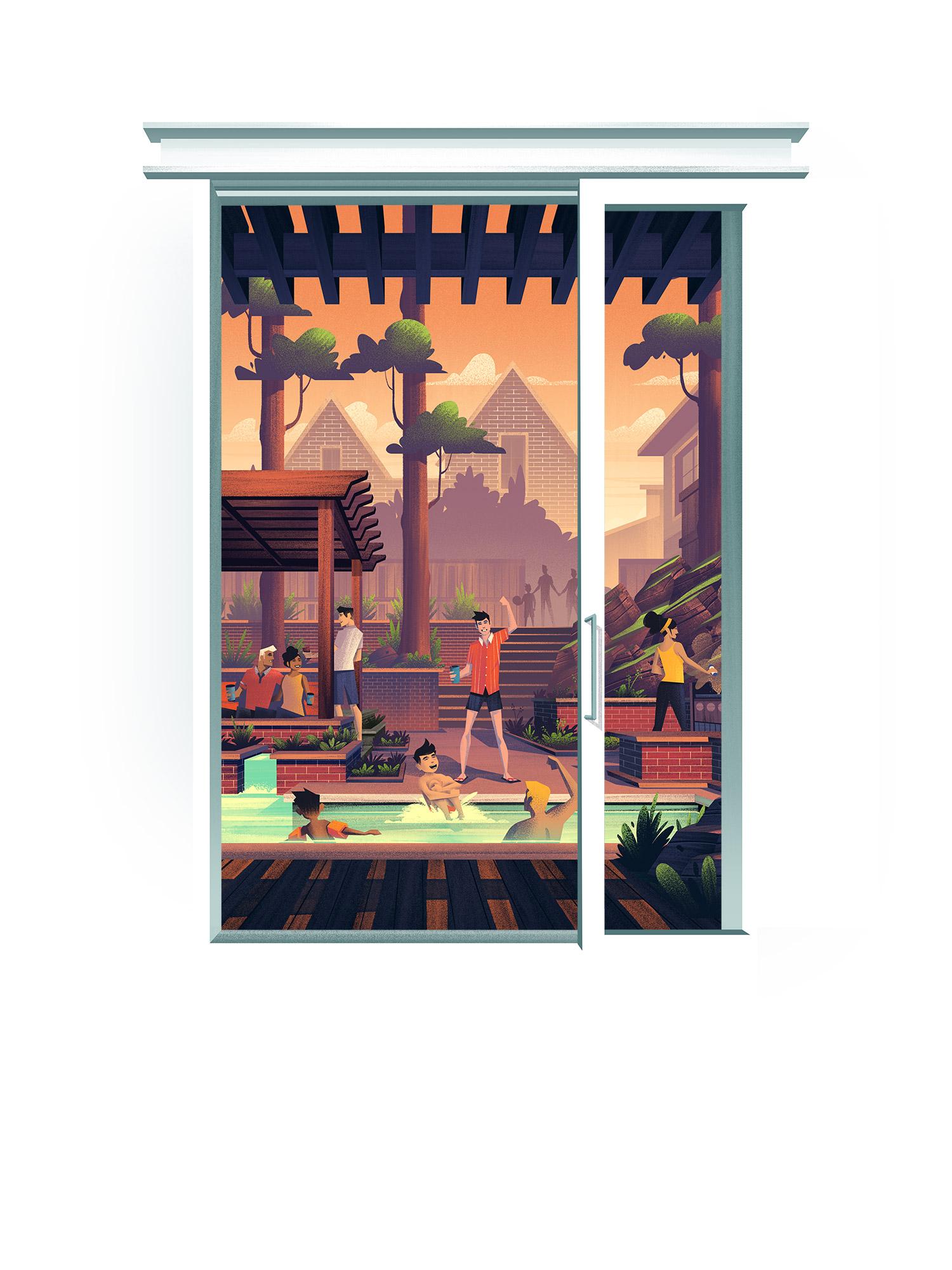 Oldetowne  · Final Illustration