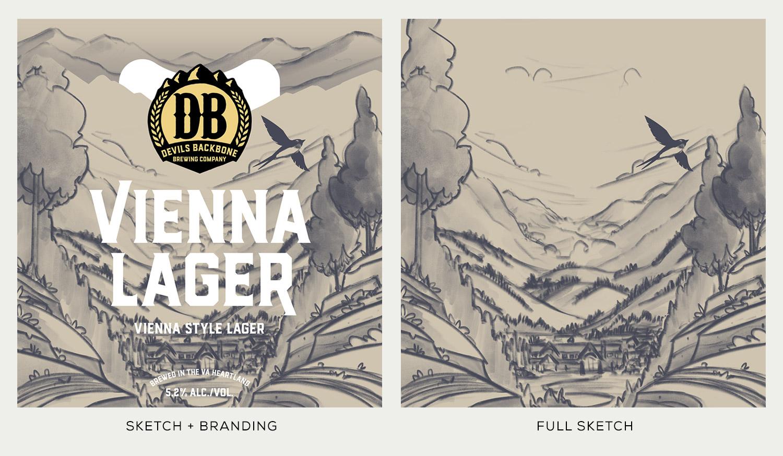 Devils Backbone Brewing Co.  · Vienna Lager Sketches