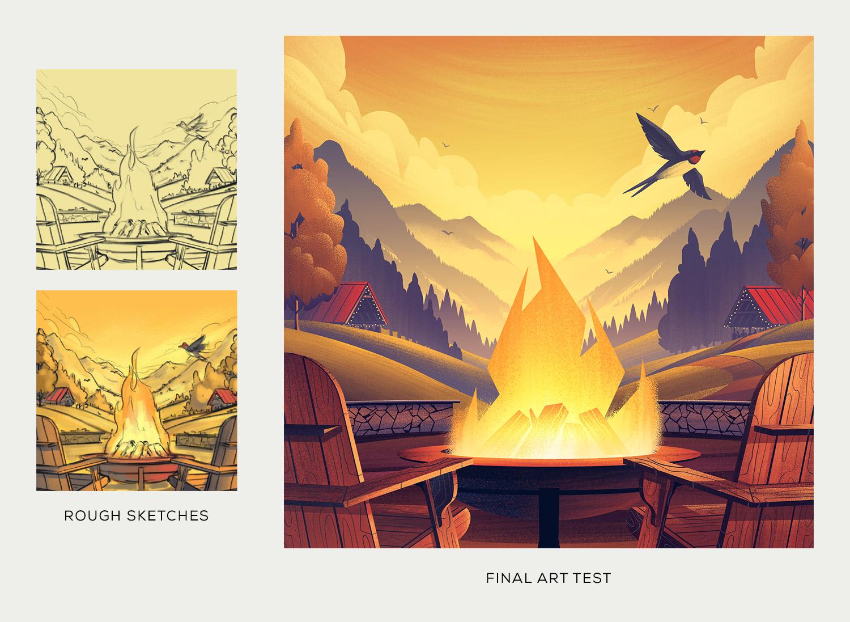 Devils Backbone Brewing Co.  · Art Test