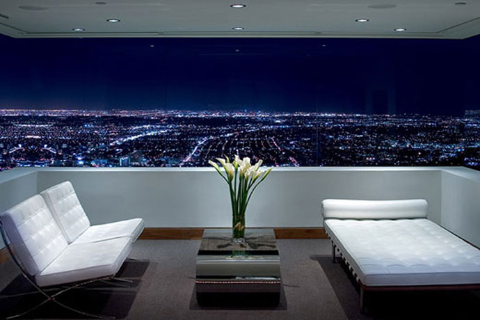 blue jay way residence: modern architecture in hollywood hills los angeles 4