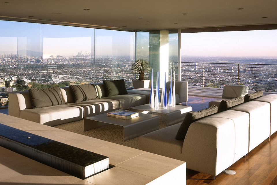 blue jay way residence: modern architecture in hollywood hills los angeles 6
