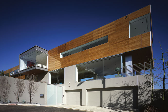 blue jay way residence: modern architecture in hollywood hills los angeles 1