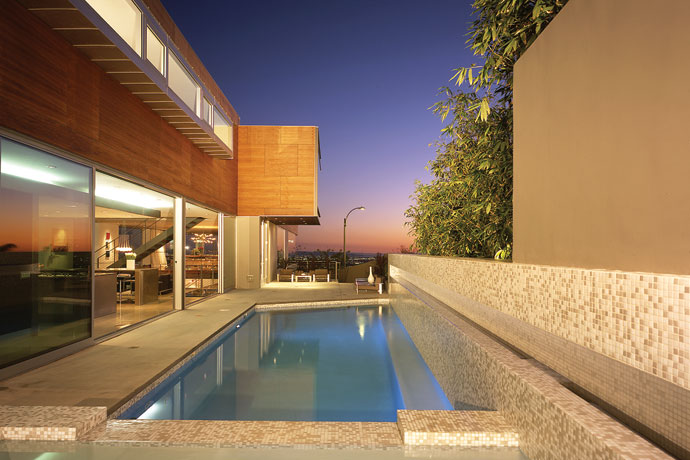 blue jay way residence: modern architecture in hollywood hills los angeles 2