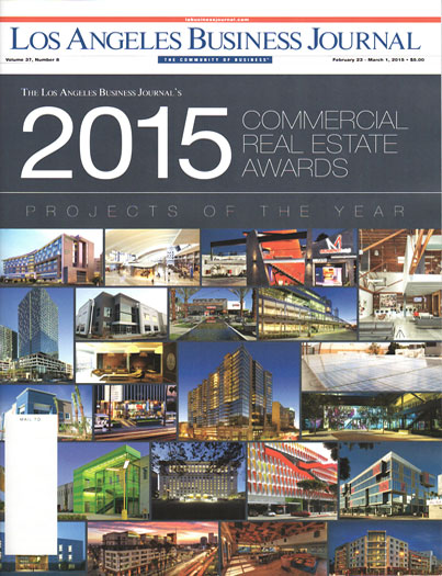 "Los Angeles Business Journal  February 23 - March 1, 2015  ""2015 Commercial Real Estate Awards""  Project feature: Hangar Office   read more"
