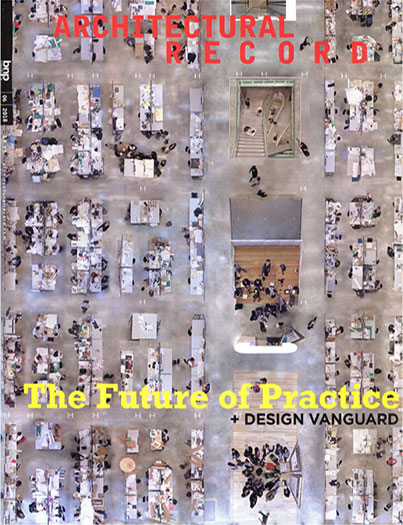 "Architectural Record  June 2018  ""Design Vanguard 2018""  Office profile & award   read more"