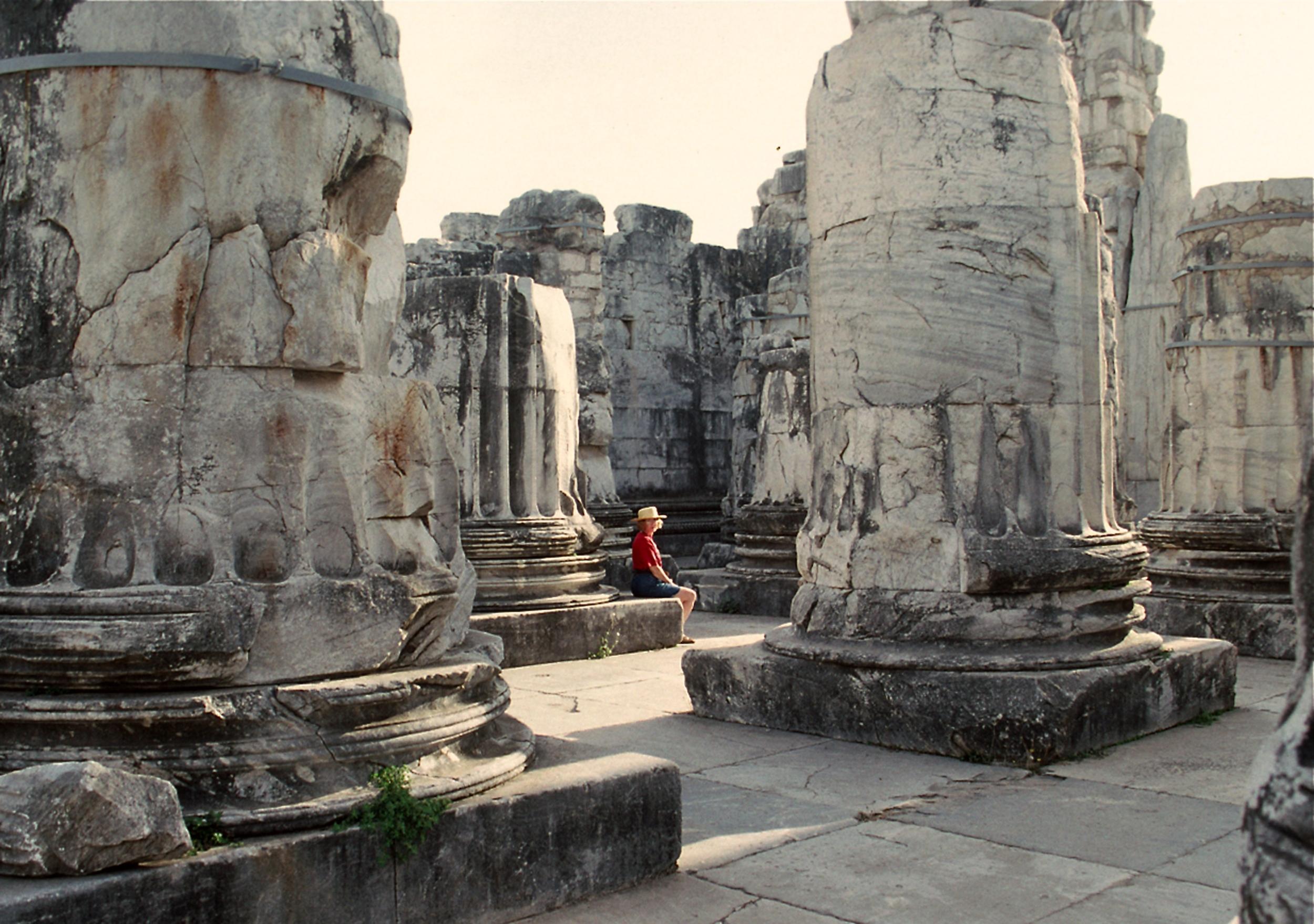 At Didyma, in Turkey