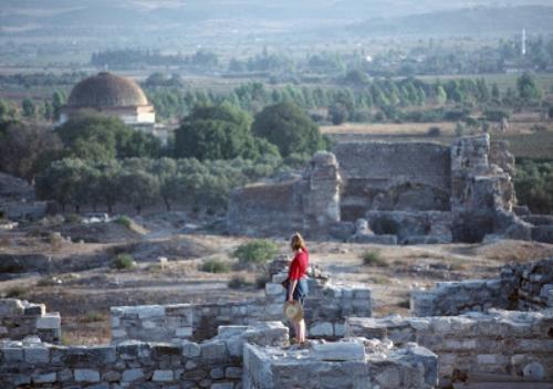 Karen at Miletus, Turkey