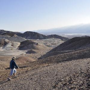 I love the desert silence.
