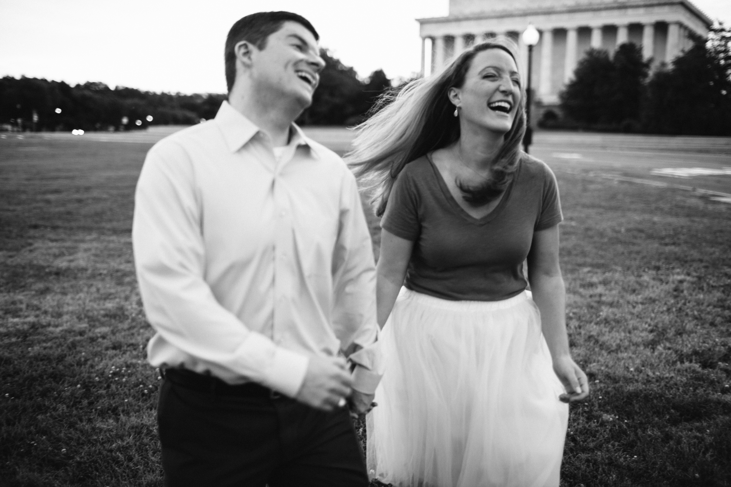 Kevin + Katie   Washington D.C. Engagement Session   Ellie Be