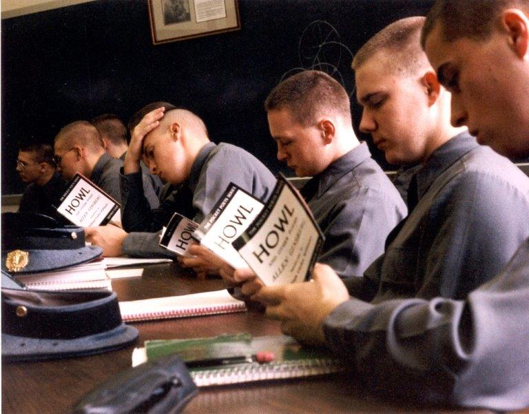 Cadets Read Howl