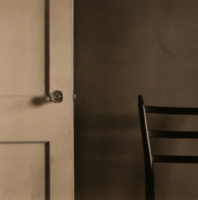Untitled (Chair and White Door)