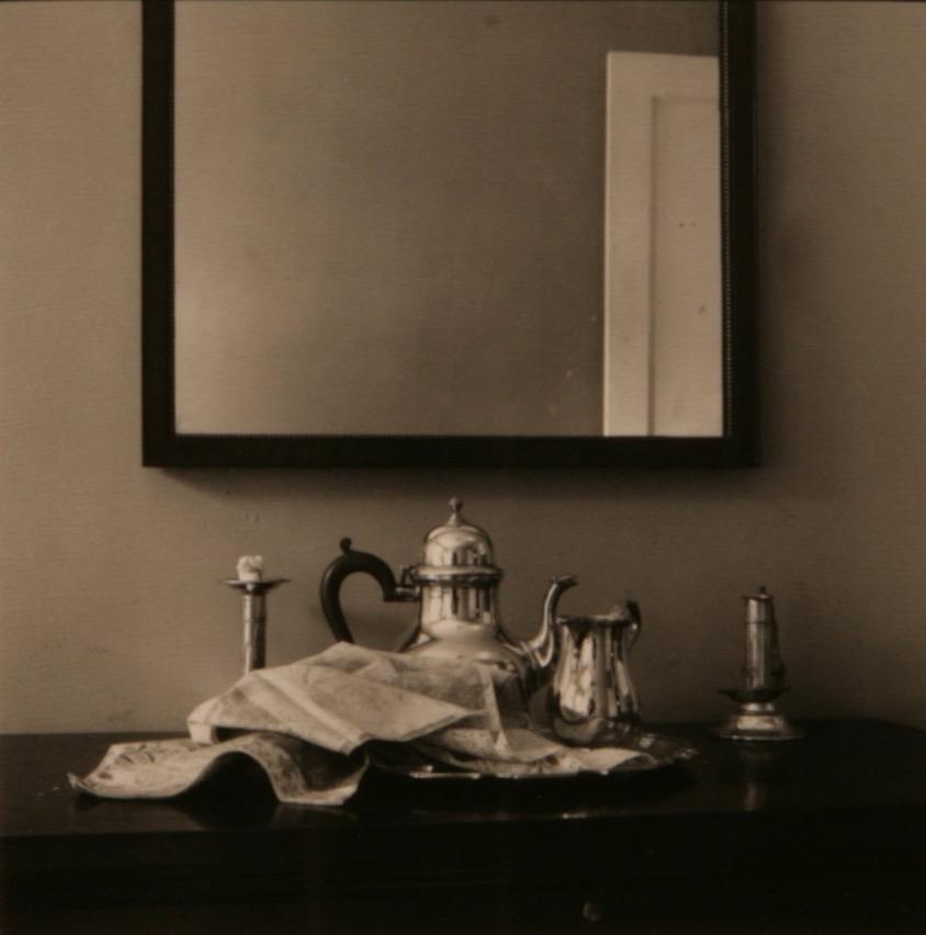 Untitled (Tea Set Self Portrait)