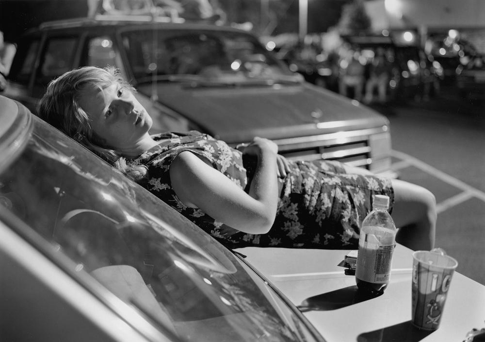 Athens, GA (Girl on Hood of Car)