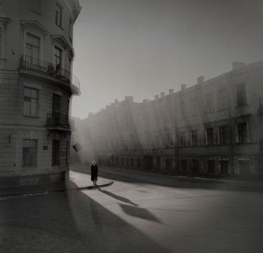 Woman at the Corner