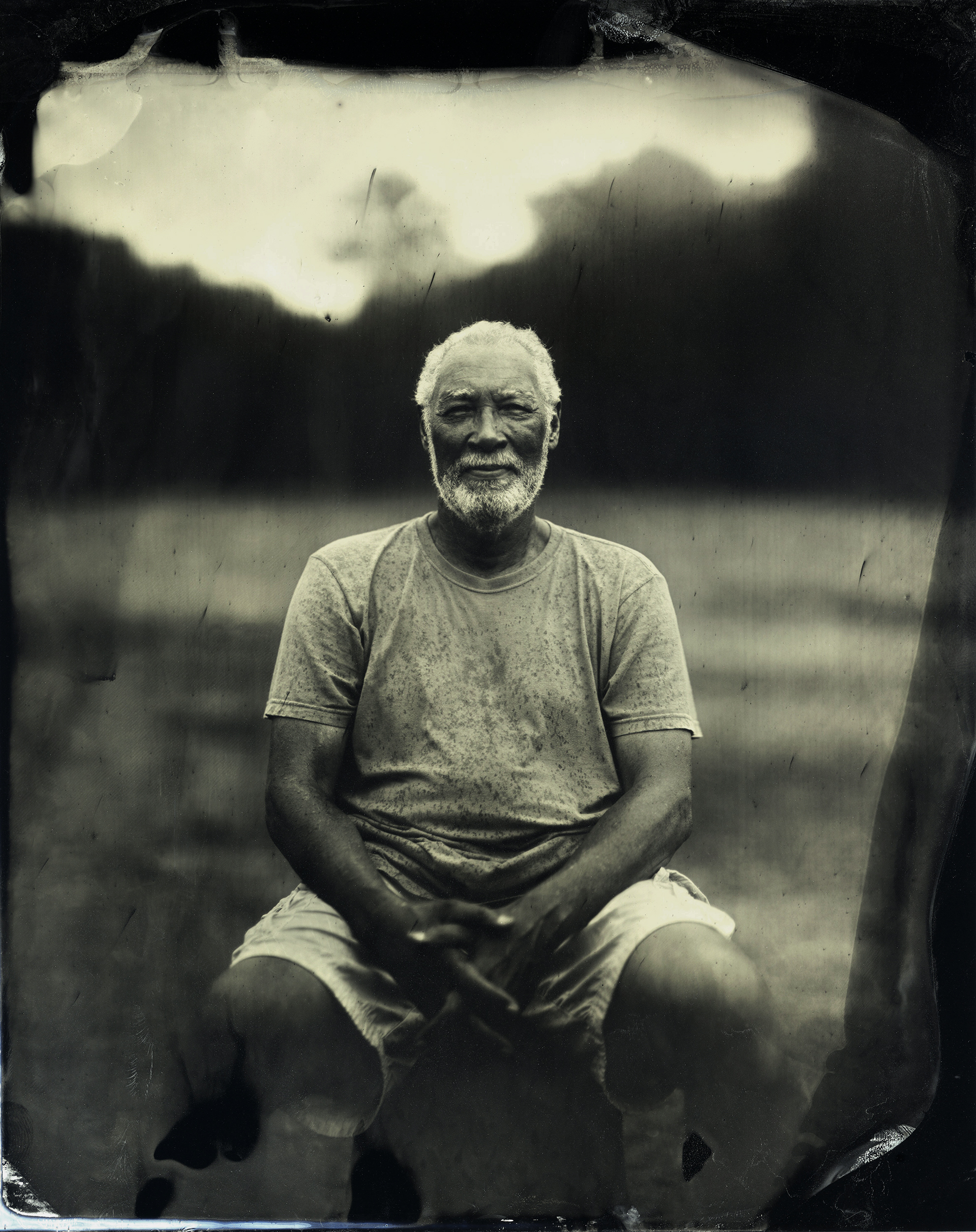 Jim Lee from the project Tintype: A Community Portrait