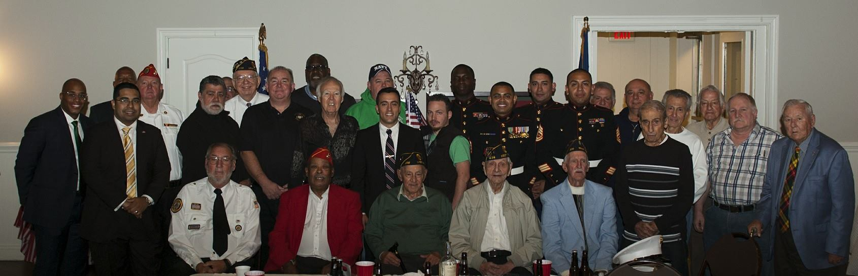 Annual Veteran's Day Celebration at the Legion -November 11th 2014 -The tradition continues