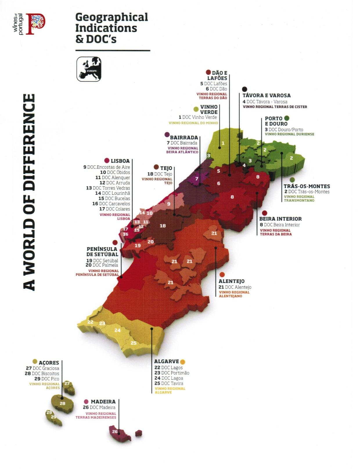 Wine regions of Portugal...