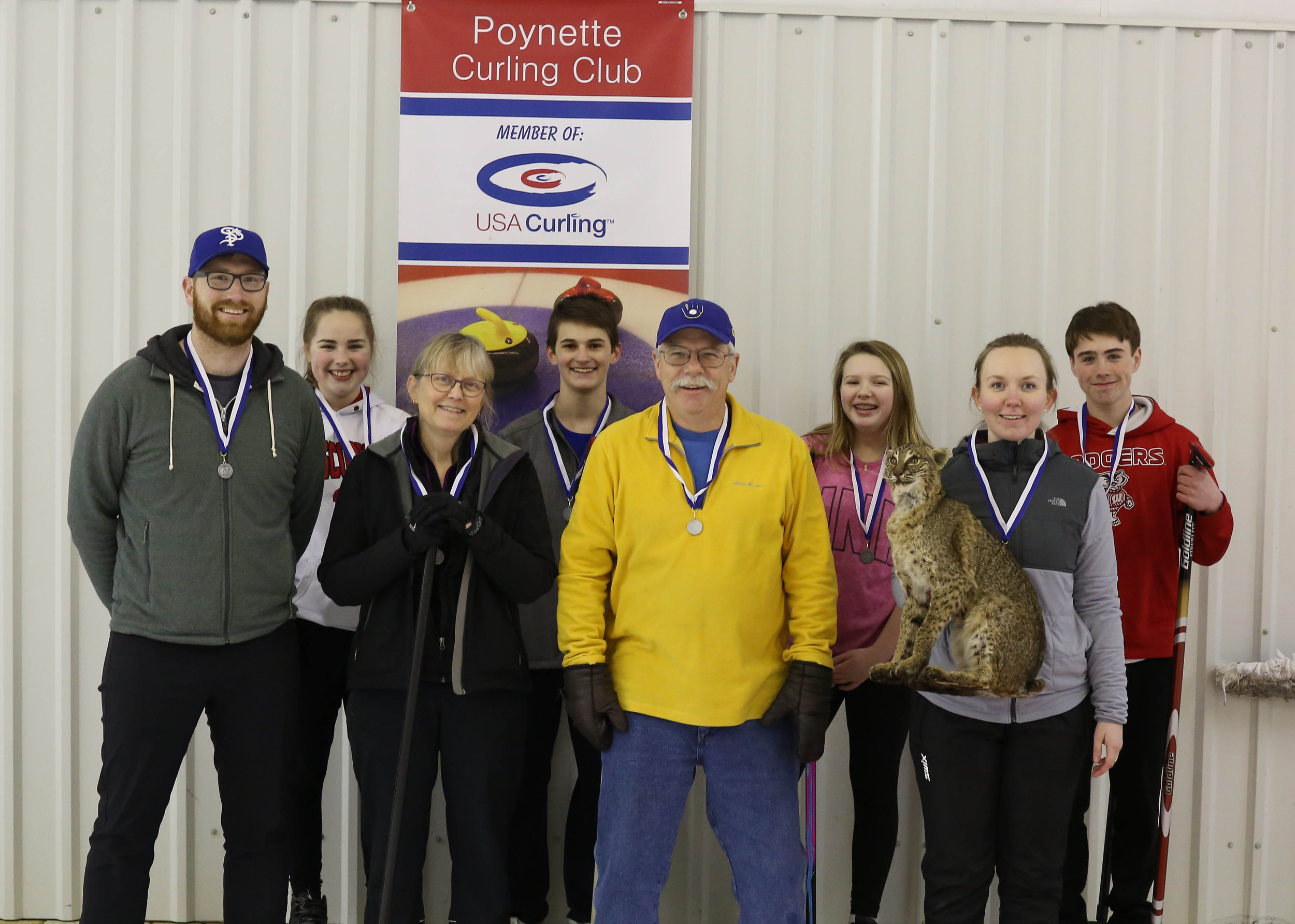4th Event - 2018 Poynette Curl for the Cur