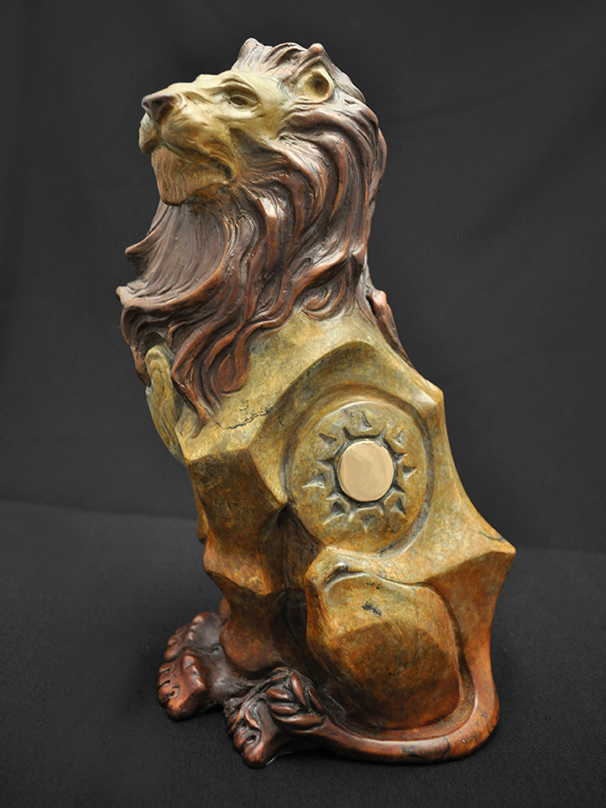 Lion Sculpture by John Maisano