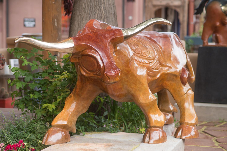 Longhorn Bronze Sculpture John Maisano 1.jpg