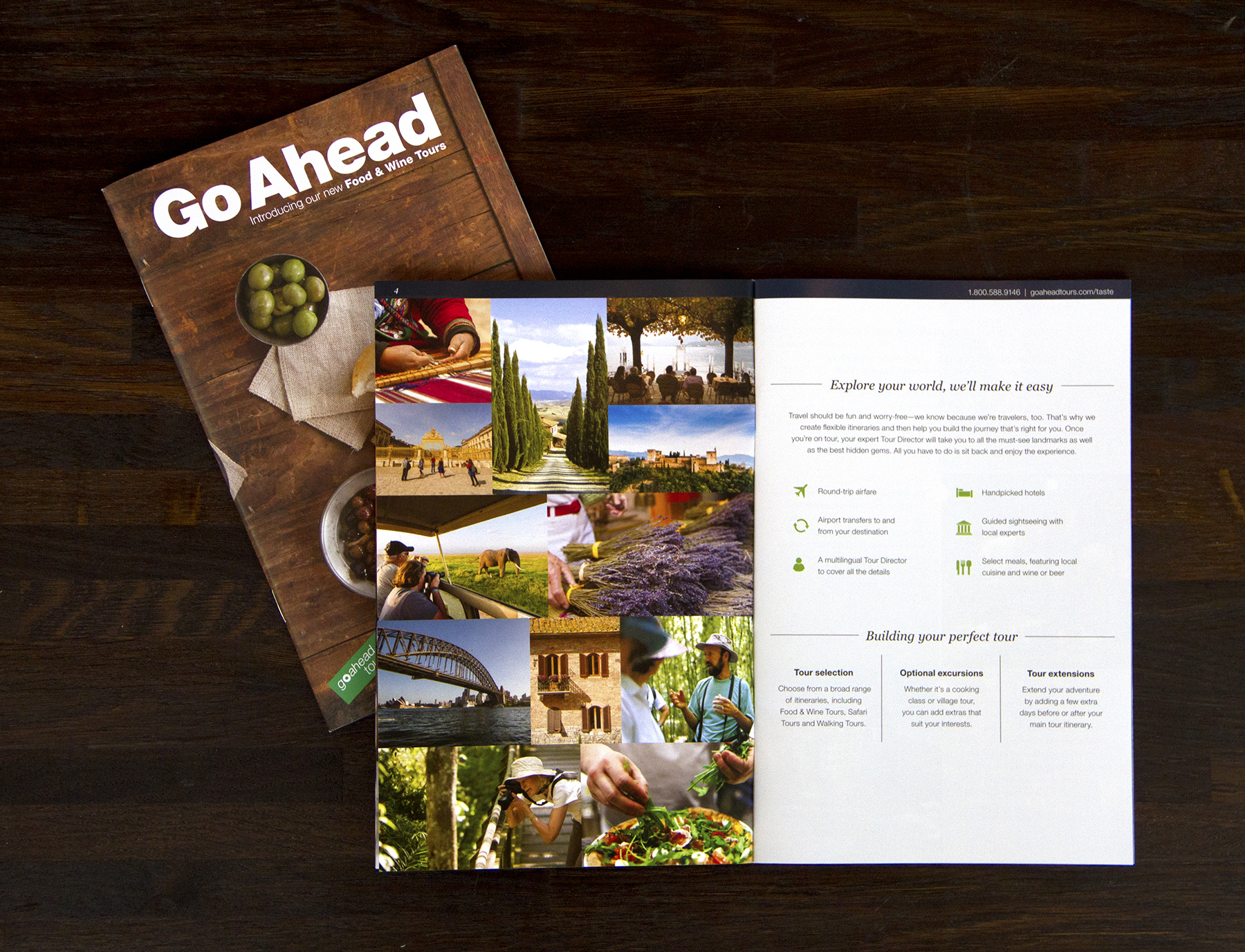 About Go Ahead page (click to enlarge)