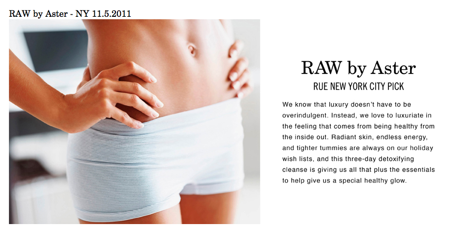 RAW by Aster preview