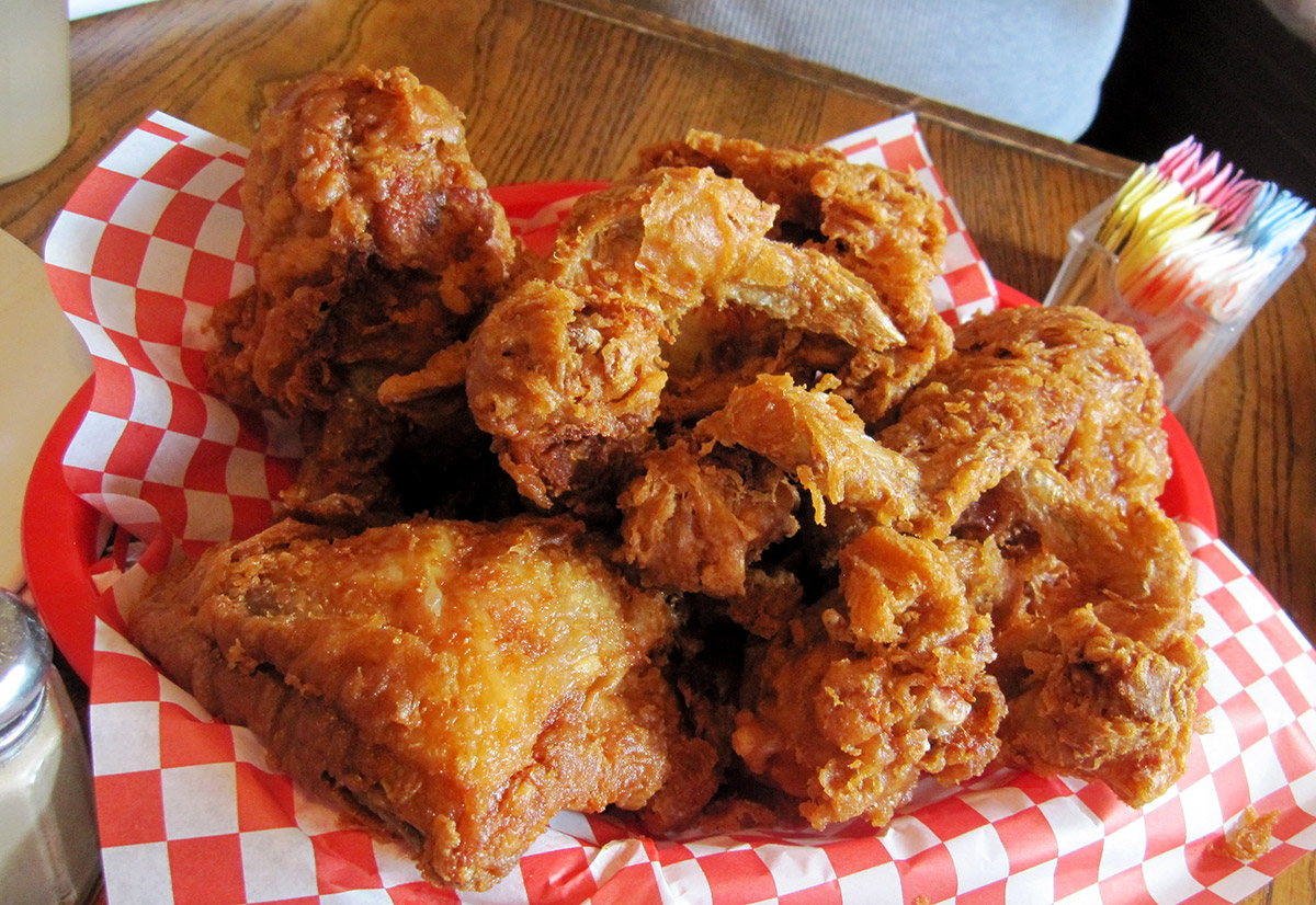 Willy May's peerless fried chicken
