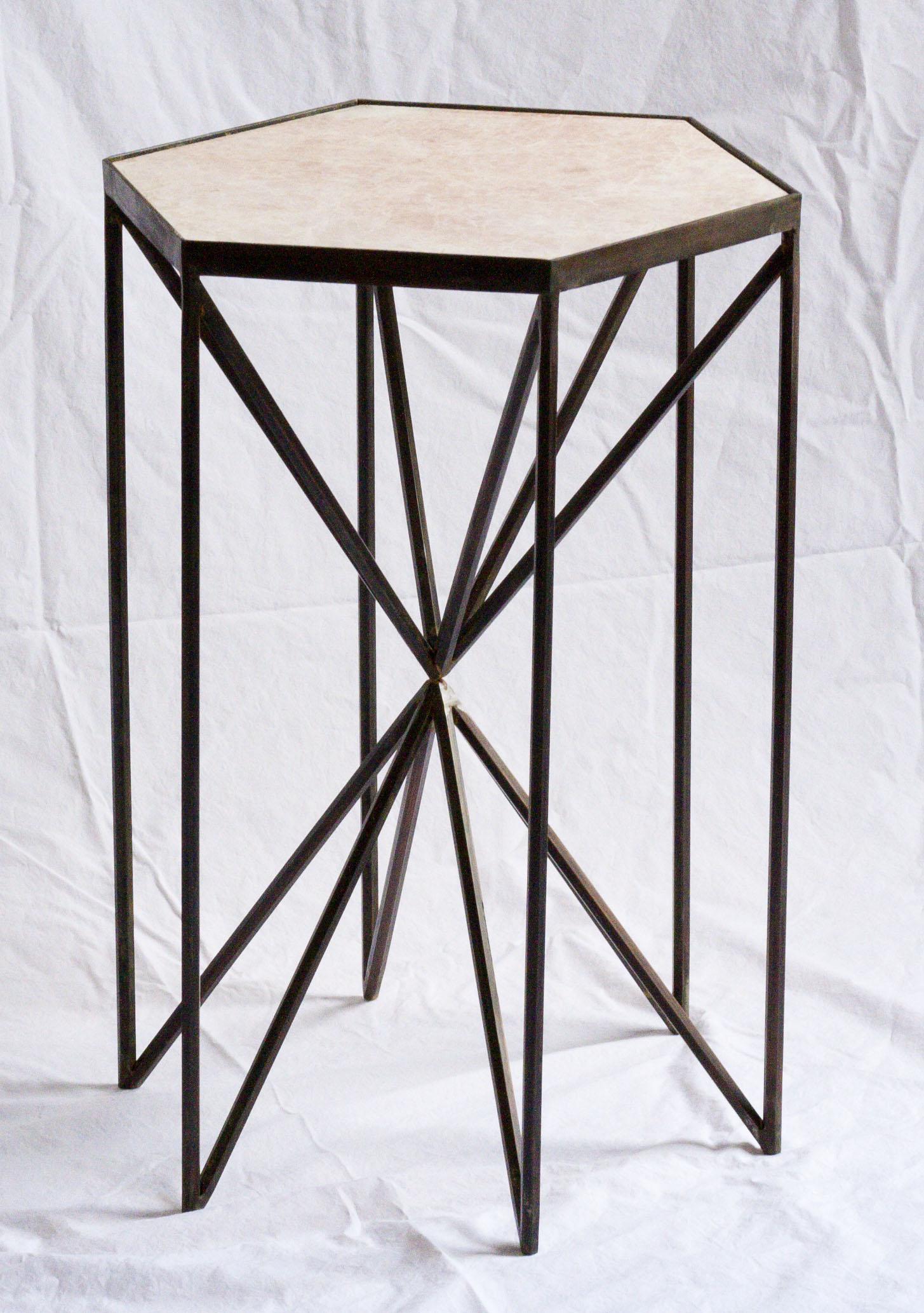Camden's finished hexagon table.jpg